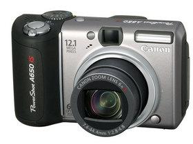二手佳能A650 IS数码相机回收