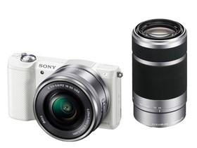 二手 微单相机 索尼ILCE-5000双头套机(E PZ 16-50mm,E 55-210mm) 回收