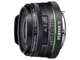 二手 镜头 宾得DA 15mm f/4 ED AL Limited 回收