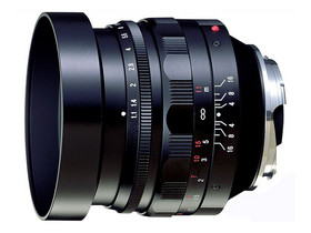 二手 镜头 福伦达Nokton 50mm f/1.1 回收