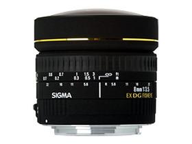 二手 摄影摄像 适马8mm f/3.5 EX DG Circular Fisheye(尼康卡口) 回收