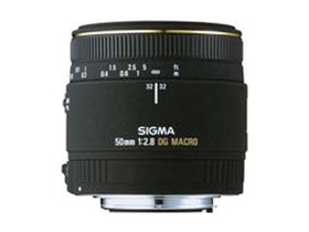 二手 镜头 适马MACRO 50mm f/2.8 EX DG(佳能卡口) 回收