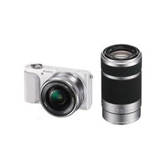 二手索尼NEX-3N双头套机(E 16-50mm,E 55-210mm)微单相机回收
