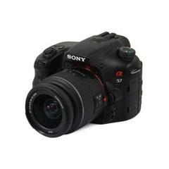 二手 微单相机 索尼A57双头套机(18-55mm,55-200mm) 回收