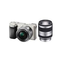 二手 微单相机 索尼ILCE-6000双头套机( E PZ 16-50mm,E 18-200mm) 回收