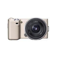 二手 摄影摄像 索尼NEX5C金色机身双头套机(E 18-55mm,E 16mm) 回收