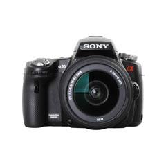 二手 微单相机 索尼A35双头套机(18-55mm,55-200mm) 回收