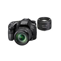 二手 摄影摄像 索尼A77 II双头套机(18-135mm,50mm F1.4) 回收