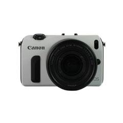 二手 微单相机 佳能EOS M双头套机(EF-M 18-55mm,EF-M 22mm,90EX闪光灯) 回收