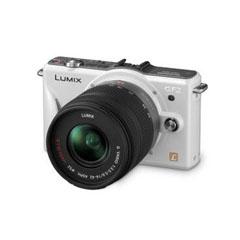二手 微单相机 松下GF2GK白色双头套机(14-42mm 14mm) 回收