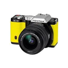 二手宾得K-01双头套机(18-55mm,55-300mm)微单相机回收