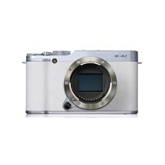 二手富士X-A1套机(XC16-50mm)白色限量版微单相机回收