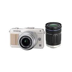 二手奥林巴斯E-PM2双头套机(14-42mm II R,40-150mm)微单相机回收
