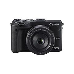 二手 微单相机 佳能 EOS M3套机(18-55mm) 回收