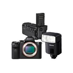 二手 微单相机 索尼 A7 II手柄闪光灯套装 回收