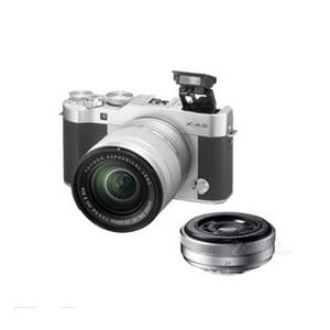 二手 微单相机 富士X-A3双头套机(XC-16-50mm,XF-27mm) 回收