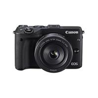 二手佳能 EOS M3套机(18-55mm)微单相机回收